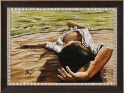 Пускай там будет белый-белый песок... Картина художника Кирдянова Дениса