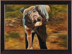 Upside-down. Картина современного художника Кирдянова Дениса