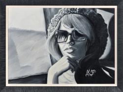 Силуэты. Картина современного художника Кирдянова Дениса