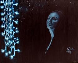 Яна-Мария. Картина художника Кирдянова Дениса