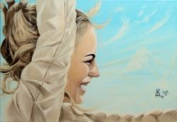 Свет новой любви. Картина художника Кирдянова Дениса